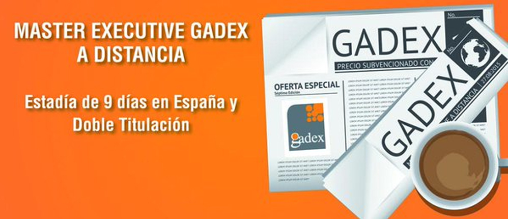 Master Executive Gadex 2017